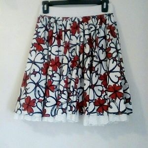 FOREVER 21 Floral Skirt, Size Small
